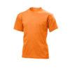 Stedman-ST2200-Laste-Puuvillane-T-Särk-Orange-oraanž-O-kaelusega