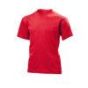 Stedman-ST2200-Laste-Puuvillane-T-Särk-ScarletRed-punane-O-kaelusega