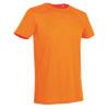STEDMAN-ST8000-meeste-t-särk-body-fit-oranz-orange-siiditrükk
