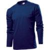 stedman-st2130-long-sleeve-pikk-kais-meeste-sark-tume-sinine-navy-blue-siiditrukk