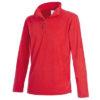stedman-st5020-meeste-pool-lukuga-fliis-fleece-pulloveer-half-zip-scarlet-red-punane