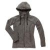 stedman-st5120-naiste-fliis-fleece-jacket-anthra-heather-tikkand