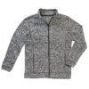 stedman-st5850-meeste-fliis-kootud-jakk-fleece-knitted-dark-grey-melange-tume-hall-logo-trukk