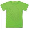 stedman-st8570-laste-t-sark-poluester-raglan-kiwi-green-hele-roheline-oma-logoga