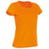 stedman-st8700-naiste-t-sark-poluester-o-kaelus-cyber-orange-oranz-siiditrukk