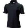 stedman-st3200-laste-luhike-kais-polo-short-sleeve-black-opal-must