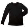 stedman-9620-meeste-clive-pikkadekaistega-long-sleeve-sark-shirt-black-opal-must-oma-logoga