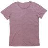 stedman-9850-meeste-t-sark-shirt-oversized-pikem-david-vana-vintage-rose-roosa-lilla-oma-logoga