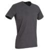 stedman-st9610-meeste-t-sark-body-fit-v-kaelus-neck-clive-slate-grey-hall-nimi-ja-number