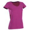 stedman-st9710-naiste-t-sark-v-kaelus-neck-body-fit-claire-cupcake-pink-lillakas-roosa-kuumkile-trukk