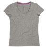 stedman-st9710-naiste-t-sa%cc%88rk-v-kaelus-neck-body-fit-claire-grey-heather-hall-tru%cc%88kk-logo