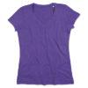 stedman-st9910-naiste-t-sark-v-kaelus-neck-purple-heather-lilla-violetne-trukk-logo