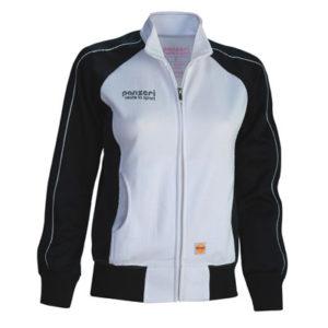 PANZERI_RELAX(F)-woman-dressikas-dressipluus-jacket-white-valge-black-must_oma_nimega_logoga