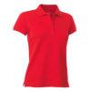 PANZERI_RELAX(W)-naiste-women-polo-red-punane_embleemiga