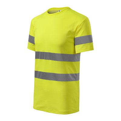 1v9_t-särk_helkur-riba_high-visibility_HI-VIS_workwear_tööriietus_neoon_kollane_yellow_trükk_tikand_enda-logoga_kuumkiletrükk
