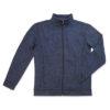 STEDMAN-ST5850-meeste-fliis-kootud-jakk-fleece-knitted-marina-blue-melange-MBM