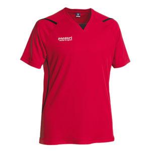 TALLINN (M)-polüester-spordisärk-meestele-red-black-punane-must-trükiga