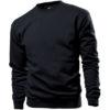 STEDMAN-ST4000-sweatshirt-unisex-pluus-must-black-opal