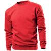 STEDMAN-ST4000-sweatshirt-unisex-pluus-punane-scarlet-red-logo-trükk-reklaam
