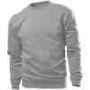 STEDMAN-ST4000-sweatshirt-unisex-pluus-valge-hall-grey-heather
