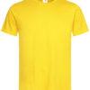Stedman-ST2000-Unisex-Puuvillane-T-Särk-Sunflower-Yellow-SUN-trükiga