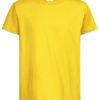 Stedman-ST2200-Laste-Puuvillane-T-Särk-Sunflower-Yellow-kollane-O-kaelusega